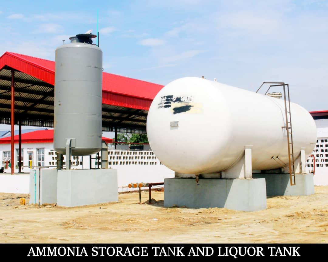 ammonia gas storage tank